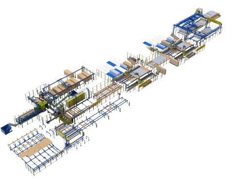 Wall, Floor and Roof Production Lines